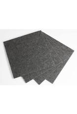 Teppichplatinen grau 1mX1m