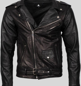 Pelechecoco Biker Jacket Men