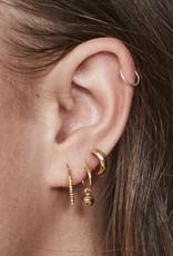fashionoligy sphere hoop earring gold