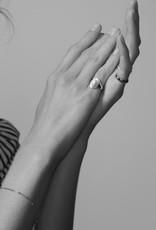 fashionoligy Oval  signet ring gold