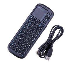 2.4G Mini Wireless Keyboard För Pcduino Raspberry Pi