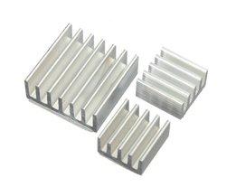 Aluminiumkylningssats för hallon Pi (15 stycken)