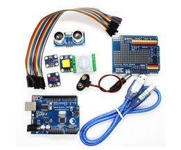 Maker Studio UNO-baserad startpaket för Arduino