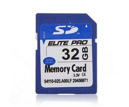 32 GB Micro SD-minneskort