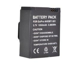 Uppladdningsbart batteri för Go Pro Hero 3/3 +