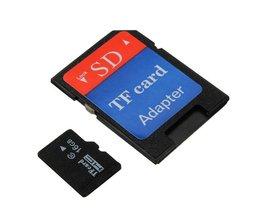 16 GB Micro SD-kort med adapter
