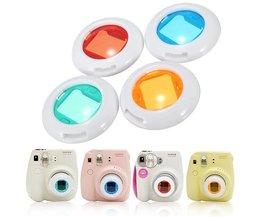 Färger Filter för Fuji Instax-kamera (4 stycken)