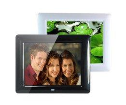 """Digital fotoram 8 """"Med MP3-spelare och fjärrkontroll"""
