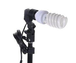 Lamphållare E27 för fotografi