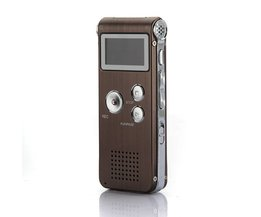 Digital röstinspelare och MP3-spelare 8GB