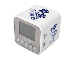 NiZHi Mini Portable MP3-spelare USB Micro SD TS med FM-radio