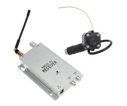 Radio AV-mottagare och kamera