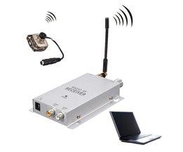 Säkerhetskamera med video / ljudmottagare