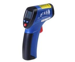 CEM DT-812 termometerpistol med laser