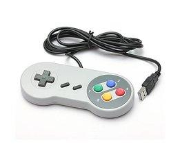 Retro SNES Controller För PC