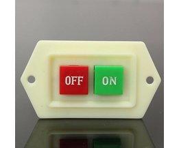 På / Av-knapp för skärpa
