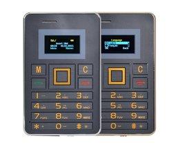 Mobiltelefon Kreditkort Format AEKU K5