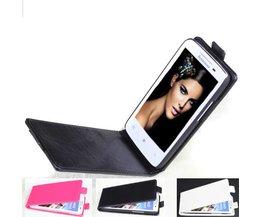Flip Open Case för Lenovo S820 Smartphone