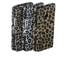 Skyddsväska till HTC One M7 med Leopard Print