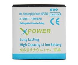 Uppladdningsbart batteri för Samsung Epic 4G Touch D710
