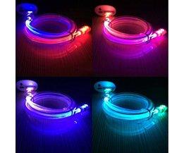 Micro USB-kabel med ljus