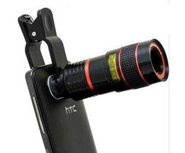 Kameralins för telefon
