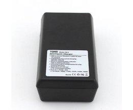 USB-batteriladdare för AA-batterier