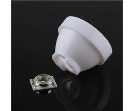 LED-objektiv med hållare