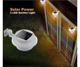 Solar LED Garden Lights Lamp Fence