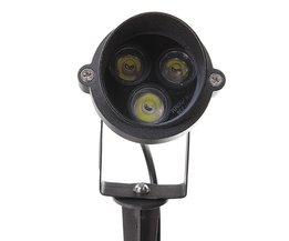 LED-strålkastare för trädgård