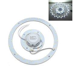 Rund LED-taklampa 24W 220V