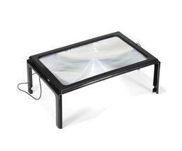 LED förstoringsglas A4
