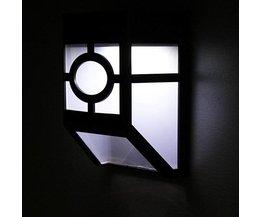 Solar LED Vägglampa
