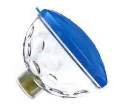 Undervattenslampa med disco lampor