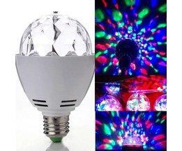 Roterande disco RGB LED-lampa