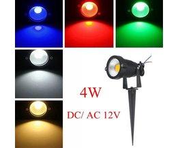 12V LED-strålkastare utomhus