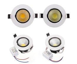 COB LED taklampa 6W