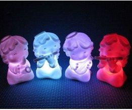 LED nattlampa med 7 olika färger