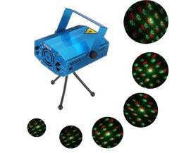 Rösta Sensitiv Disco Laser