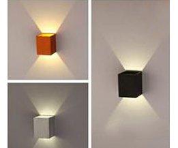 3W Aluminium LED Vägglampa