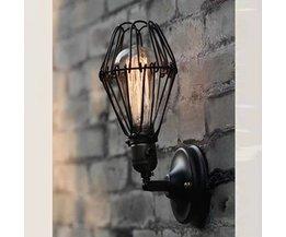 Lampa för utomhusjärn