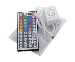 IR fjärrkontroll 12V RGB LED Strip