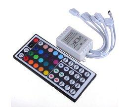 Fjärrkontroll och RGB Controller för LED Strip