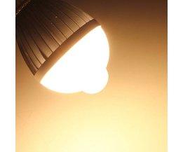 LED-lampa med rörelsessensor