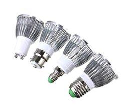 4W dimbar LED-lampa med olika beslag