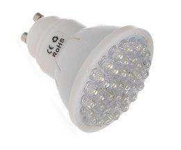 GU10 LED Spotje med kallt vitt ljus