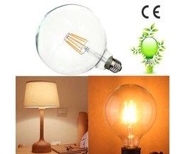 Edison Light Bulb Spherical