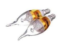 LED-lampa E14 (4,5W)
