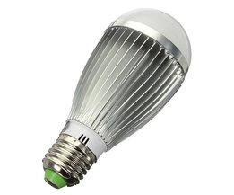 8W E27 LED-lampa