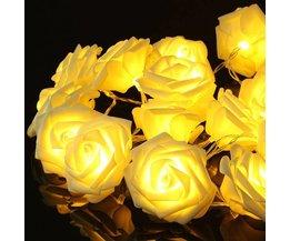 Ledning med LED-lampor